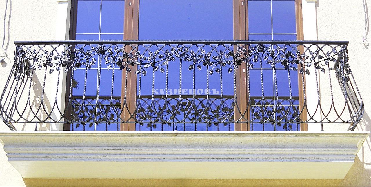 """Кованые балконные ограждения - ооо """"кузнецовъ""""."""
